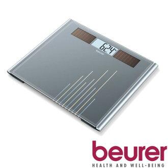 德國 博依 beurer 環保太陽能玻璃體重計 GS380