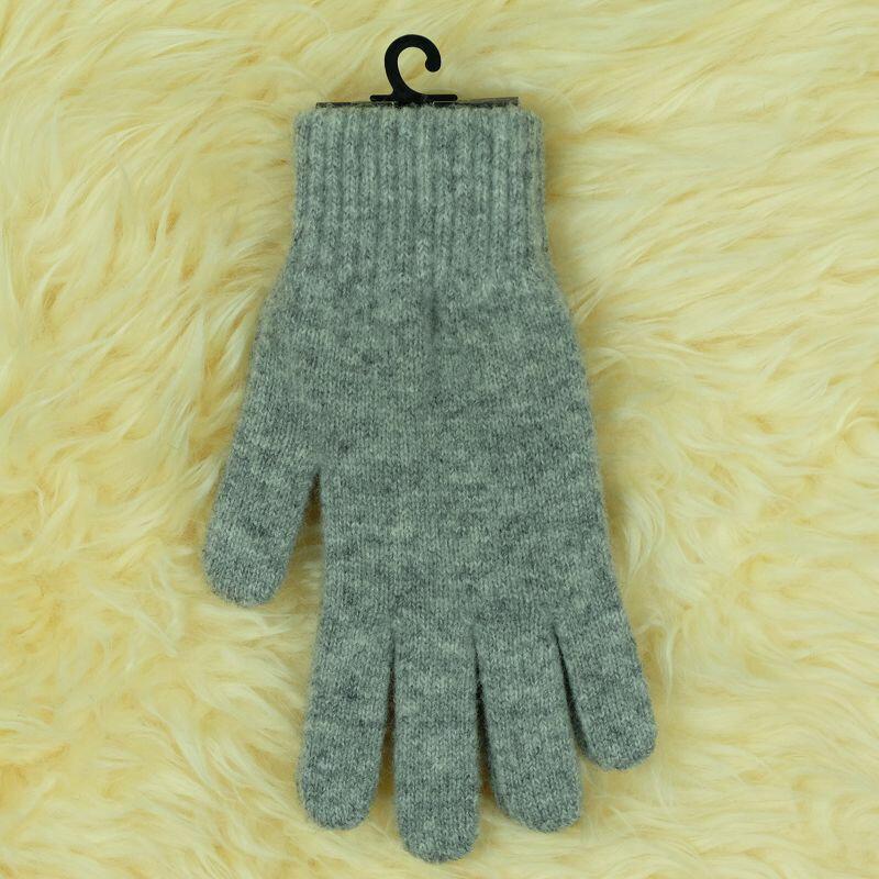 紐西蘭100%美麗諾羊毛手套*灰色