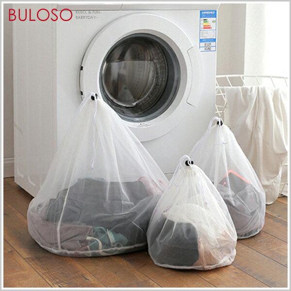 《不囉唆》加厚抽繩束口式衣物洗護袋1050(小) 內衣 洗衣袋 洗衣網 旅行 (不挑款/色)【A424642】