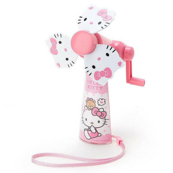 X射線【C761526】Hello Kitty 迷你手動風扇-臉,手搖風扇/USB風扇/復古手搖風扇/省力手搖風扇/安全風扇/手持風扇/環保風扇/手壓風扇/手搖扇