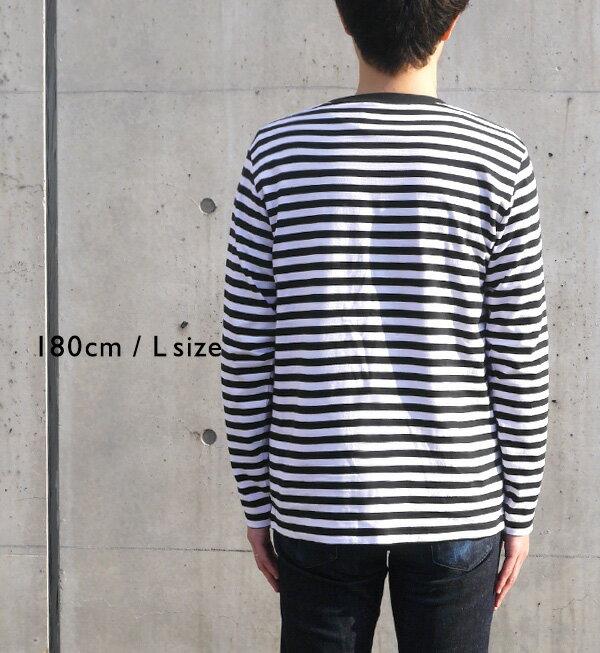 日本e-zakka / 簡約條紋長袖T恤 / 32560-1801340  / 日本必買 代購 / 日本樂天直送(2300) 8