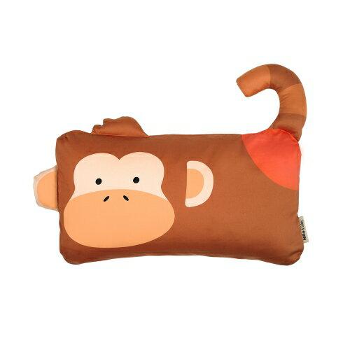 ★衛立兒生活館★Milo & Gabby 動物好朋友-mini枕頭套(MICHAEL猴子)
