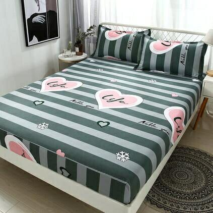 床罩 床笠單件席夢思床墊保護套加高防塵床罩防滑床單薄棕墊1.5/1.8m床