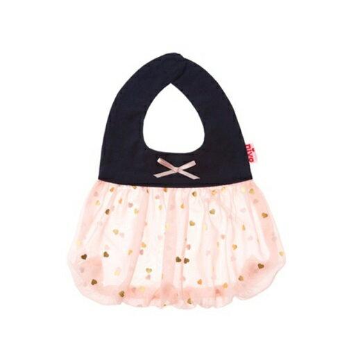 日本【NIVA】可愛造型圍兜口水巾(閃亮小甜心)