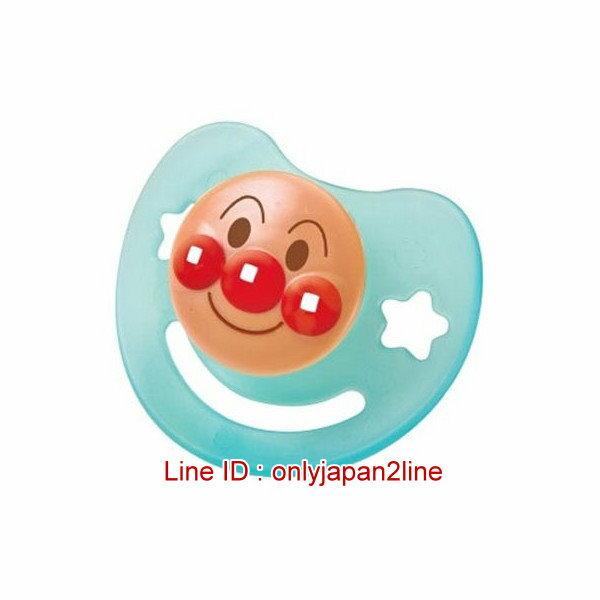 【真愛日本】16122700002幼兒奶嘴M-AP藍   電視卡通 麵包超人 細菌人  奶嘴 嬰兒用品