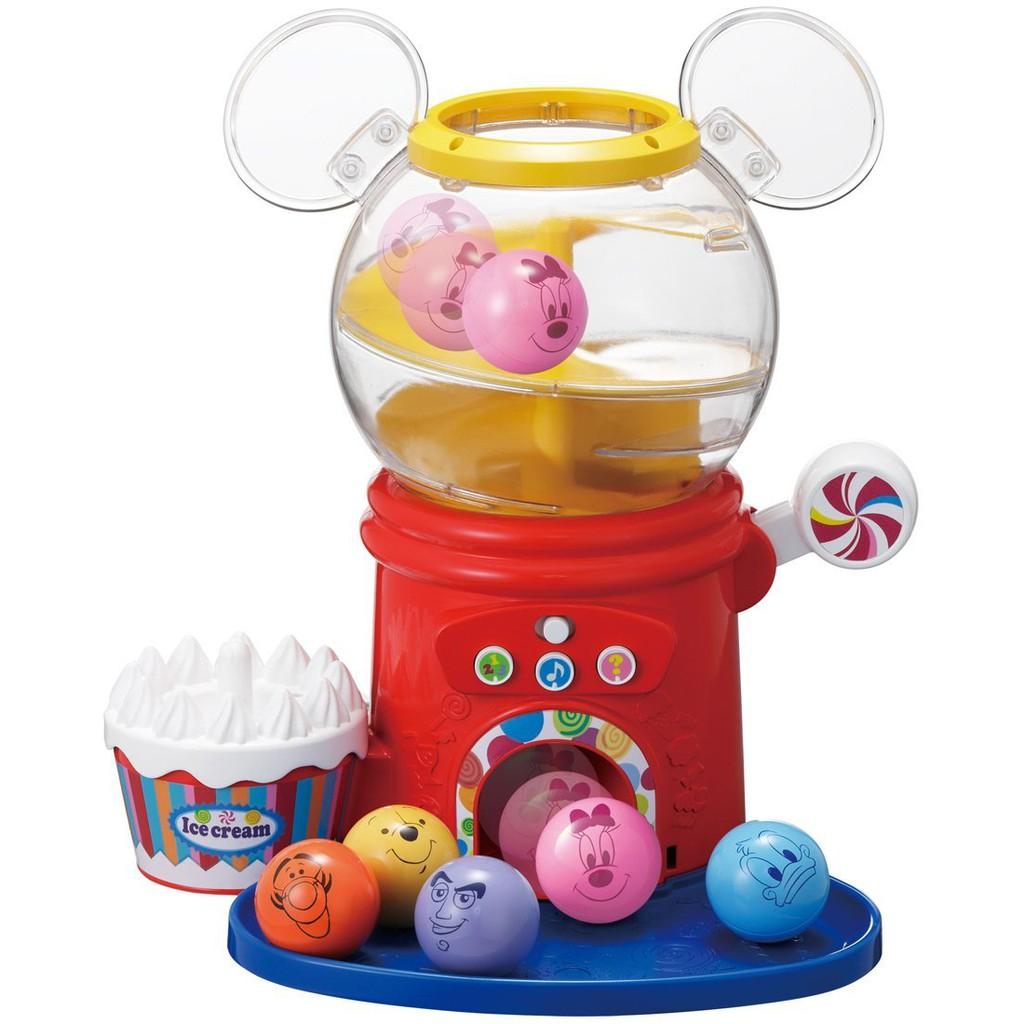 【預購】日本進口Takara Tomy 迷你扭蛋機 迪士尼 英語 日語 学習 轉蛋機【星野日本玩具】