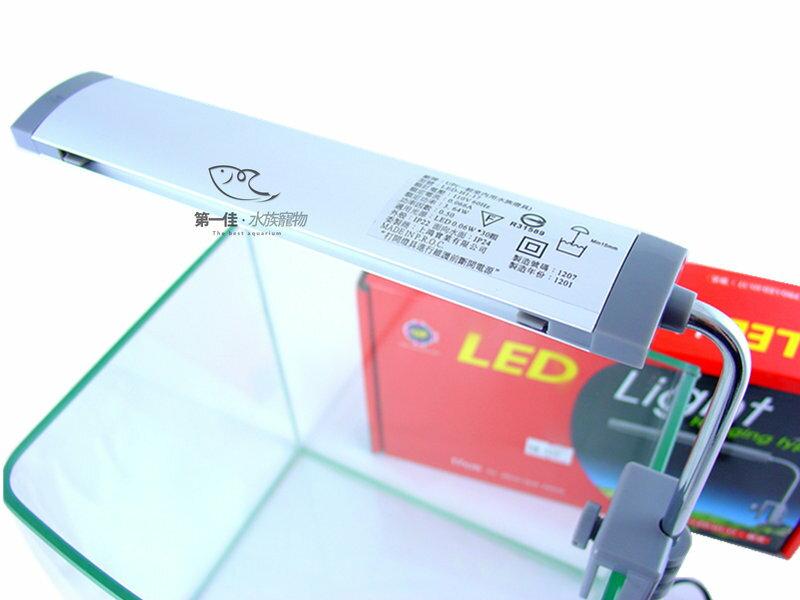 [第一佳 水族寵物] 台灣雅柏UP LED燈具 全白燈 [ 掛式(夾燈)-17cm]