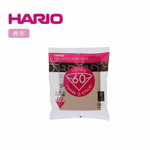 【威豆精品咖啡】HARIO VCF-02-100M咖啡濾紙(100枚入)