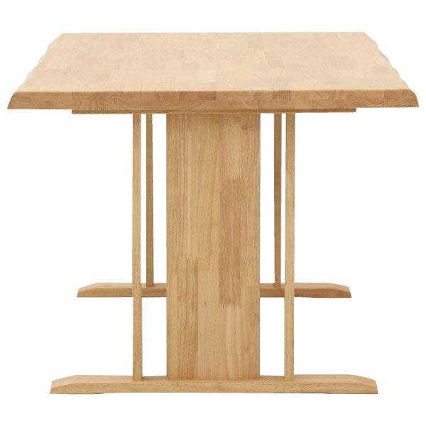 ◎(OUTLET)橡膠木質餐桌椅四件組 SAZANAMI 150 LBR 福利品 NITORI宜得利家居 3