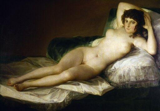 Goya Nude Maja C1797 Nthe Nude Maja (Maja Desnuda) Oil On Canvas 1797-1800 By Francisco Goya Rolled Canvas Art - (18 x 24) b27fe42b6a0c7fe5a9253330e14c4100