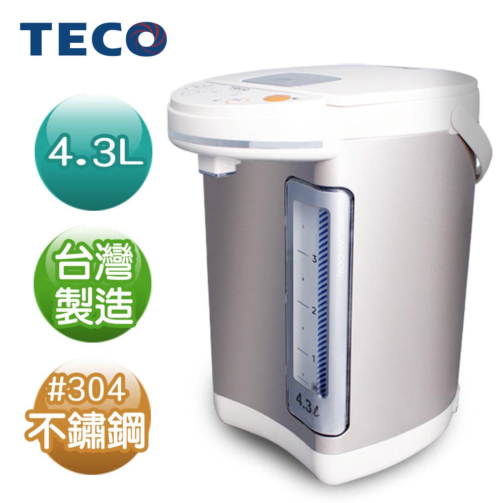 TECO東元 4.3L電熱水瓶 YD4301CB(福利品)