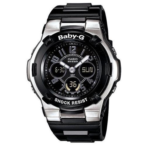 Casio Women's Baby G BGA110-1B2 Resin Quartz Watch with Grey Dial 0