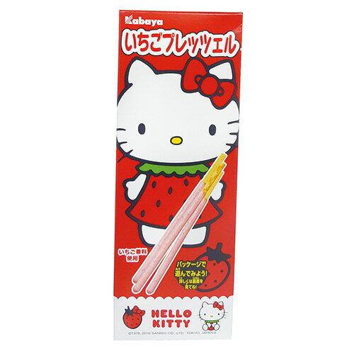 卡巴HELLO KITTY草莓棒22g【愛買】