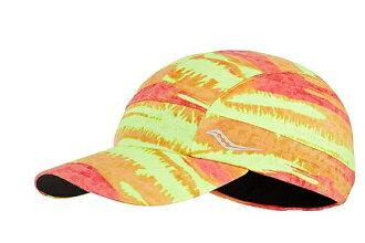[陽光樂活] SAUCONY 美國索康尼 女款 慢跑帽 SY90494 - CHBVCT 橘色