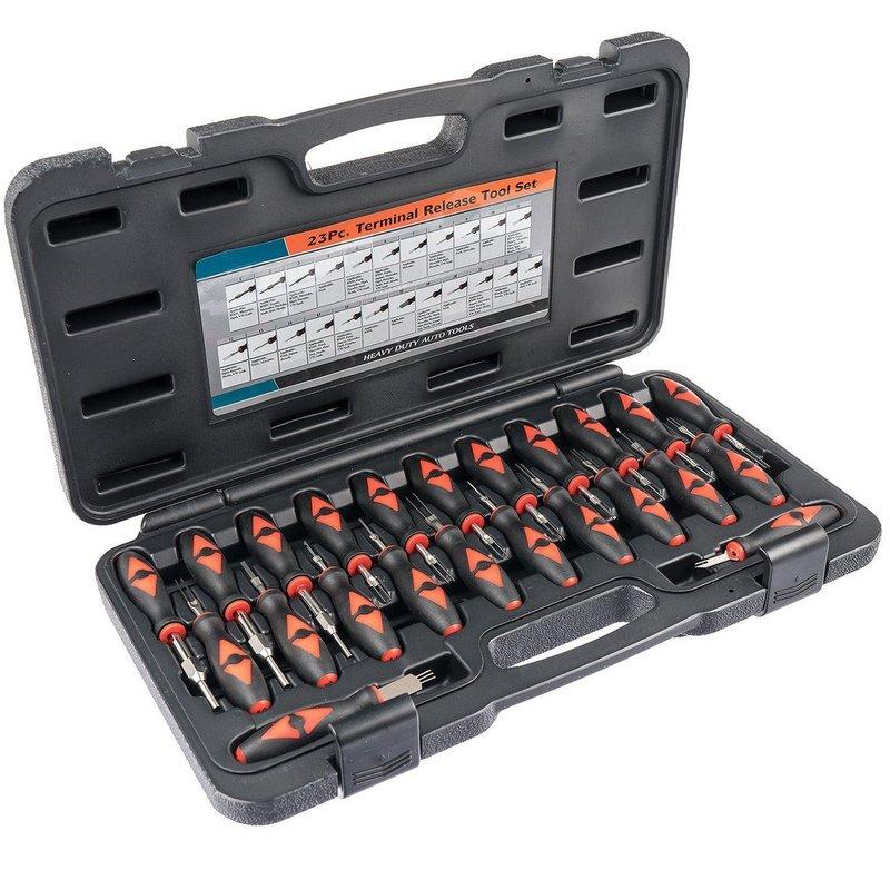 ~韋恩工具~ AOK 23件組 端子拆卸 工具組 E22023K
