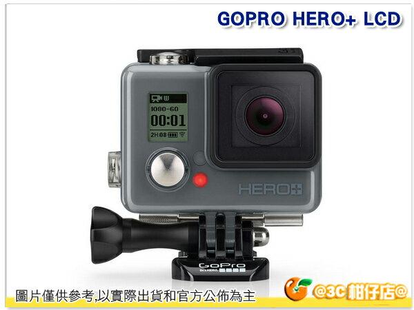 現貨 送32G GOPRO HERO 入門版 +LCD 運動攝影機 公司貨 HERO+ LCD CHDHB-101