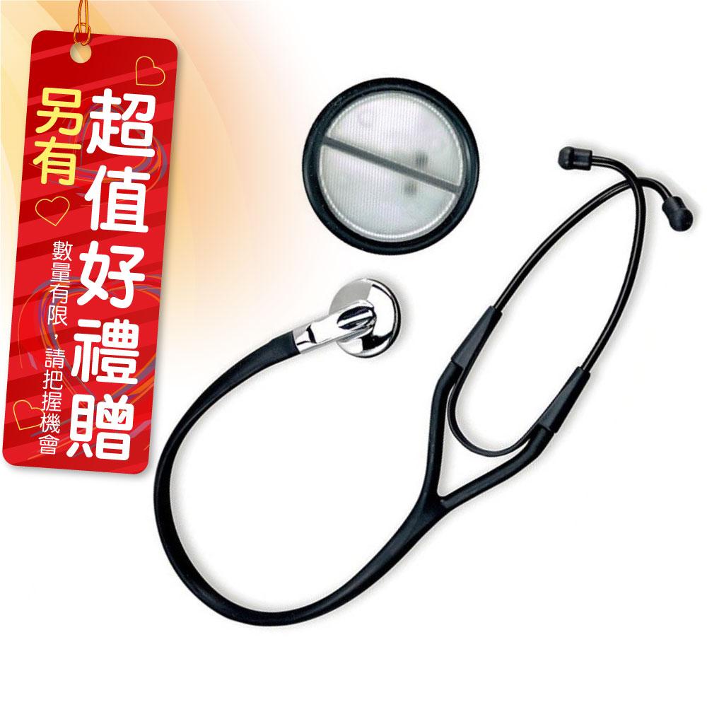 Spirit精國 CK-P745P 精國聽診器(未滅菌) 心臟系列-專業級輕型心臟科立體音頻單面聽診器 好禮贈品-舒潔三層醫用口罩一包