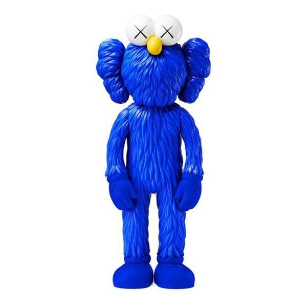 BEETLE PLUS:BEETLE現貨KAWSBFFBLUEOPENEDITIONMOMA紐約店獨售藍色搪膠公仔