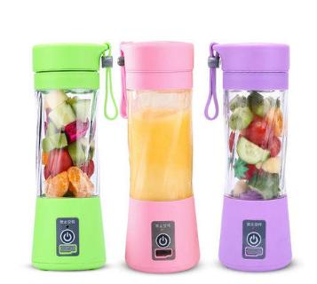 不必等380ML 升級6葉刀片迷你電動榨汁杯 可擕式小旋風果汁杯 USB充電 電動榨汁杯 隨身杯 水果榨汁機