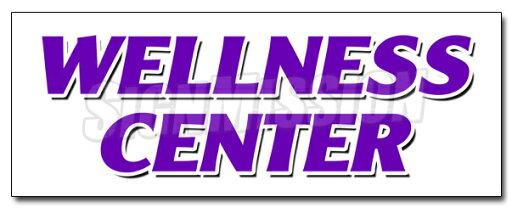 """36"""" WELLNESS CENTER DECAL sticker chiropractic chiropractor fitness center 7b17d2c0ced49d60bec10f6cf577ebe6"""