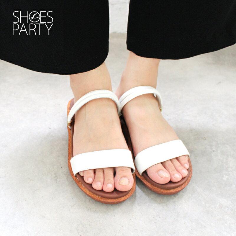 【S2-17615L】Simple+久走不累一字帶兩穿涼鞋_Shoes Party 2