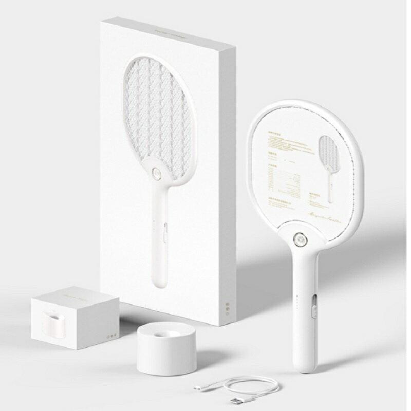 (免運) 簡約設計 日式和扇電蚊拍 附LED照明 優雅除蚊 氣質滿載 夏日必備 送禮自用倆相宜[猴吉本舖][現貨]