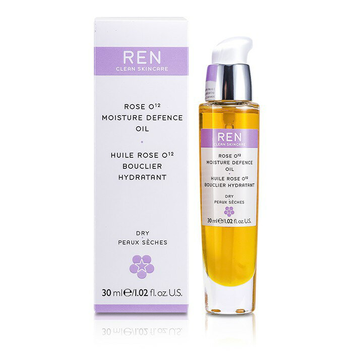 Ren 任 玫瑰O12滋潤精華Rose O12 Moisture Defence Serum 乾性肌膚   30ml  1.02oz