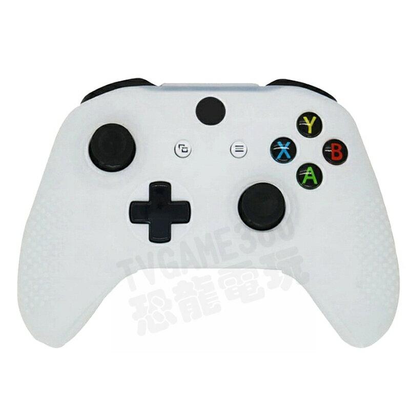 XBOXONE XBOX ONE 無線控制器 手把 把手 專用 果凍套 矽膠套 保護套 SILICON 顆粒防滑 白色
