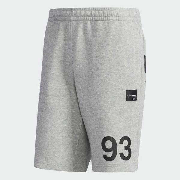 ADIDASORIGINALSEQTSHORTS男裝短褲慢跑休閒經典灰黑【運動世界】DN8052