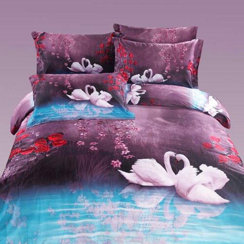 柔絲絨 六件式鋪棉兩用被床罩組-花前月鏡/雙人/ 哇哇購