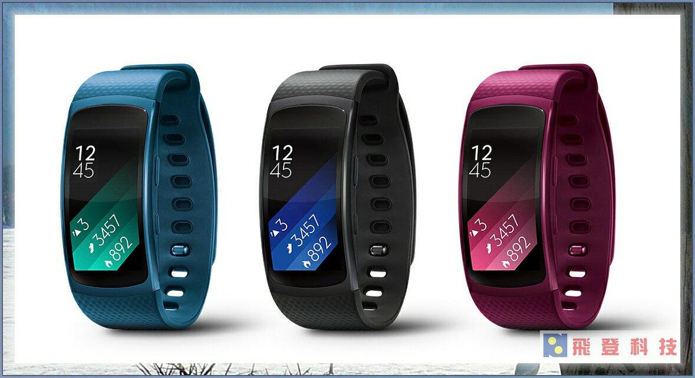 Samsung 三星 Gear Fit2 SM-R360 心率 GPS 智慧手環 音樂撥放 手錶 穿戴 防水 走路 跑步 自行車 含稅開發票