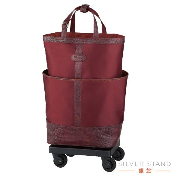 【銀站】日本SWANY經典行李箱助行袋登機箱簡報出差購物旅遊