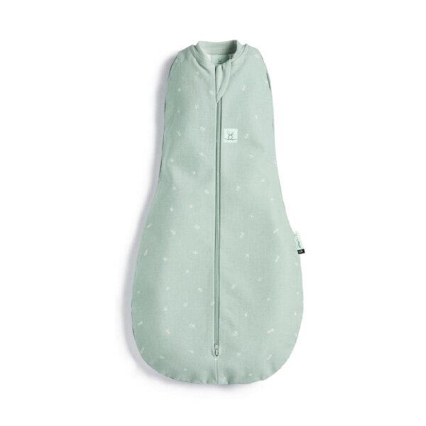 【全品牌任兩件贈三角圍兜】ergoPouch ergoCocoon 二合一舒眠包巾 0.2T(0~12m)蘇答綠-懶人包巾