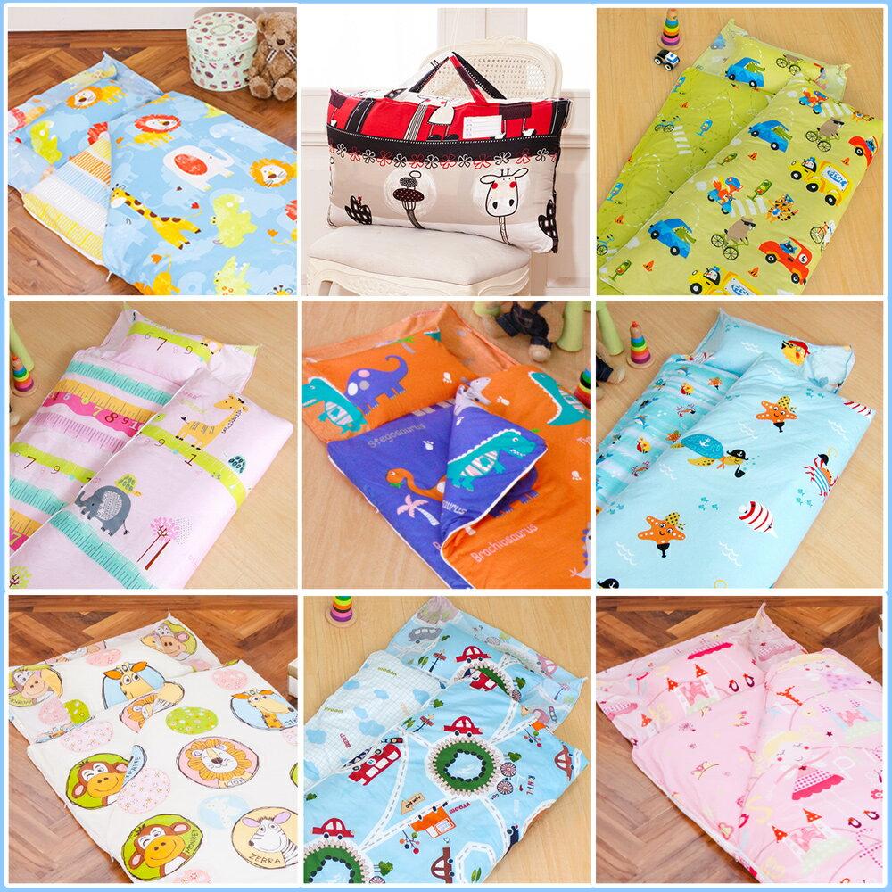 兒童睡袋 防蹣睡袋 防蹣抗菌精梳棉鋪棉兩用睡袋  共16款花色 多款  美國棉 品牌 鴻宇