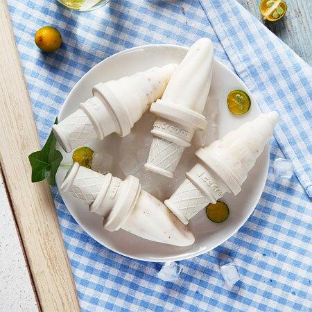 冰淇淋模具 四支裝 DIY 冰棒 冰塊 雪糕 冰棍 冰淇淋 甜筒 模具 居家 夏天 消暑 自製 創意【B062879】
