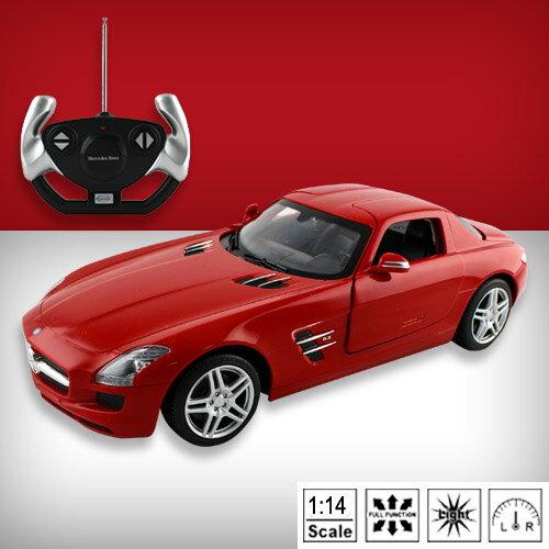 ~瑪琍歐玩具~1:14 Mercedes Benz SLS AMG R  C 遙控車