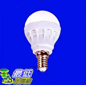 [106玉山最低網] led燈泡 E14小螺口螺絲球 3W 泡燈 圓頭節能燈 客廳吊燈螺旋燈泡 照明光源