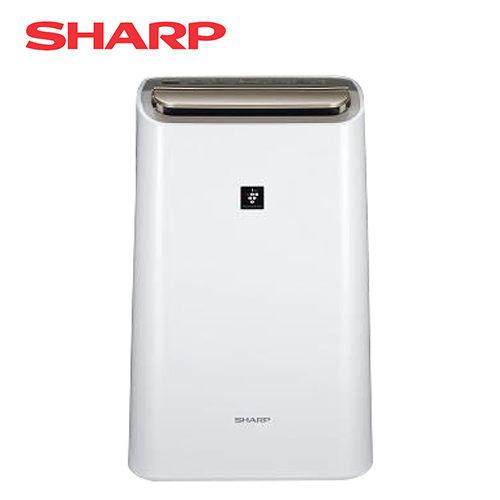 SHARP 夏普 12L 自動除菌離子HEPA空氣清淨除濕機 DW-H12FT-W *免運費*