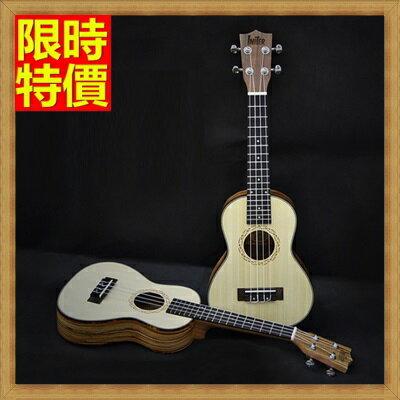 ★烏克麗麗ukulele-23吋雲杉相思木斑馬木單板夏威夷吉他四弦琴弦樂器2款69x34【獨家進口】【米蘭精品】