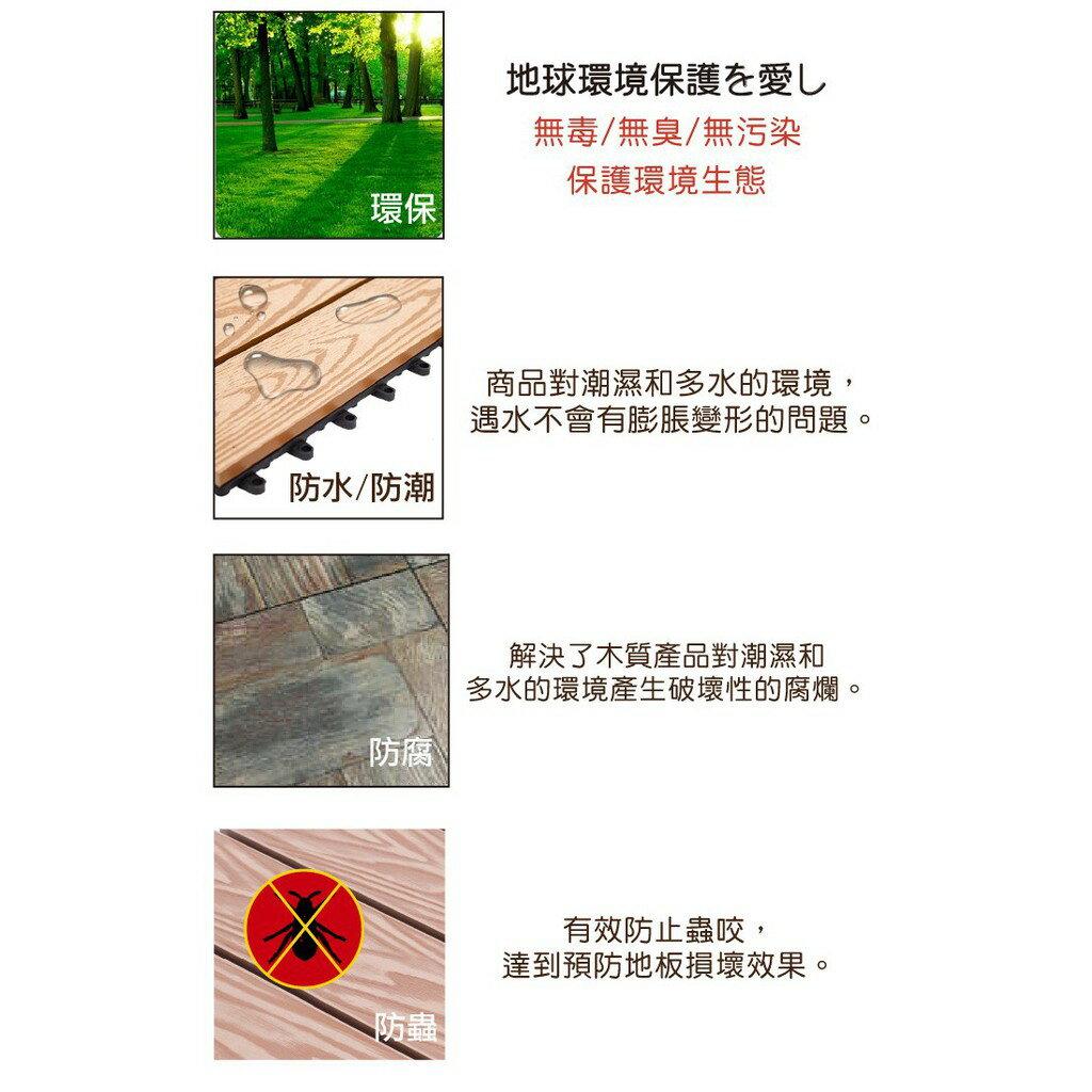 時尚經典造景DIY地板 - 10片