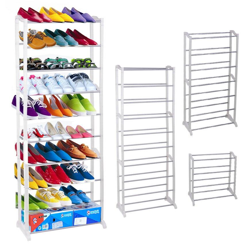 Space Saving Storage Organizer Shoe Tower Rack Shelf 0