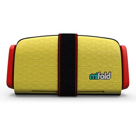 美國mifold隨身安全座椅汽座-黃色(4-12歲適用)【悅兒園婦幼生活館】