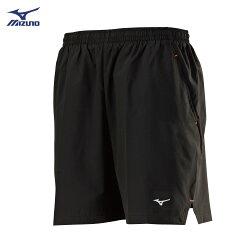J2TB8A0509(黑)股下18cm 微彈性材質內裏褲設計  男路跑褲 【美津濃MIZUNO】
