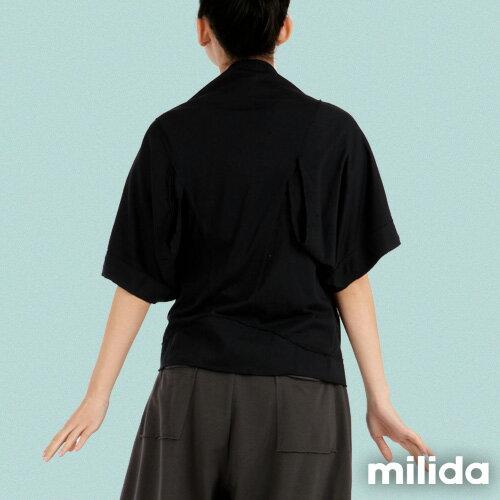【Milida,全店七折免運】-早春商品-外套款-五分袖短版設計 4