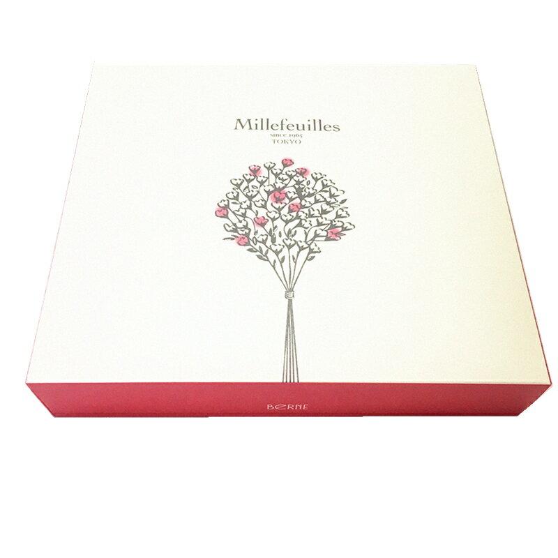 預購【BeRNe】 Millefeuilles 法式巧克力千層酥-甜蜜巧克力 / 牛奶巧克力 / 榛果巧克力 東京限定伴手禮  ベルン ミルフィユ  日本空運進口 約10-15天出貨 3