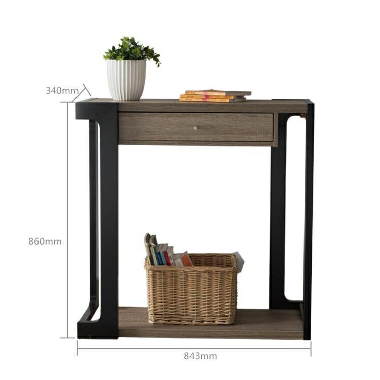 玄關桌 美式現代簡約玄關台供桌供台玄關櫃置物架墻邊條案靠墻窄桌