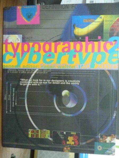 【書寶二手書T6/廣告_PCS】Typographics Cybertype 2_Roger Walton