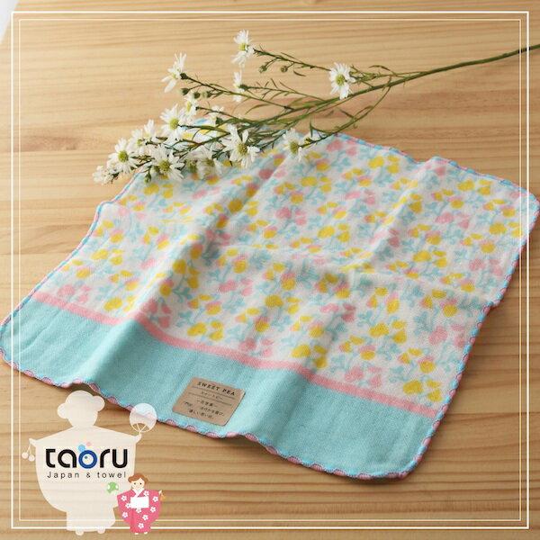 taoru:日本毛巾:町娘物語_香豌豆25*25cm(手巾花屋篇--taoru日本毛巾)