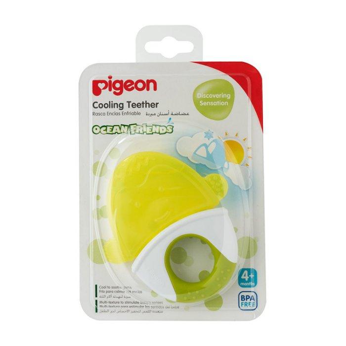 【淘氣寶寶】Pigeon 貝親 冰涼固齒器(企鵝)P13650 4個月起 - 限時優惠好康折扣