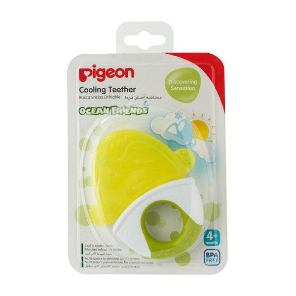 【淘氣寶寶】Pigeon貝親冰涼固齒器(企鵝)P136504個月起
